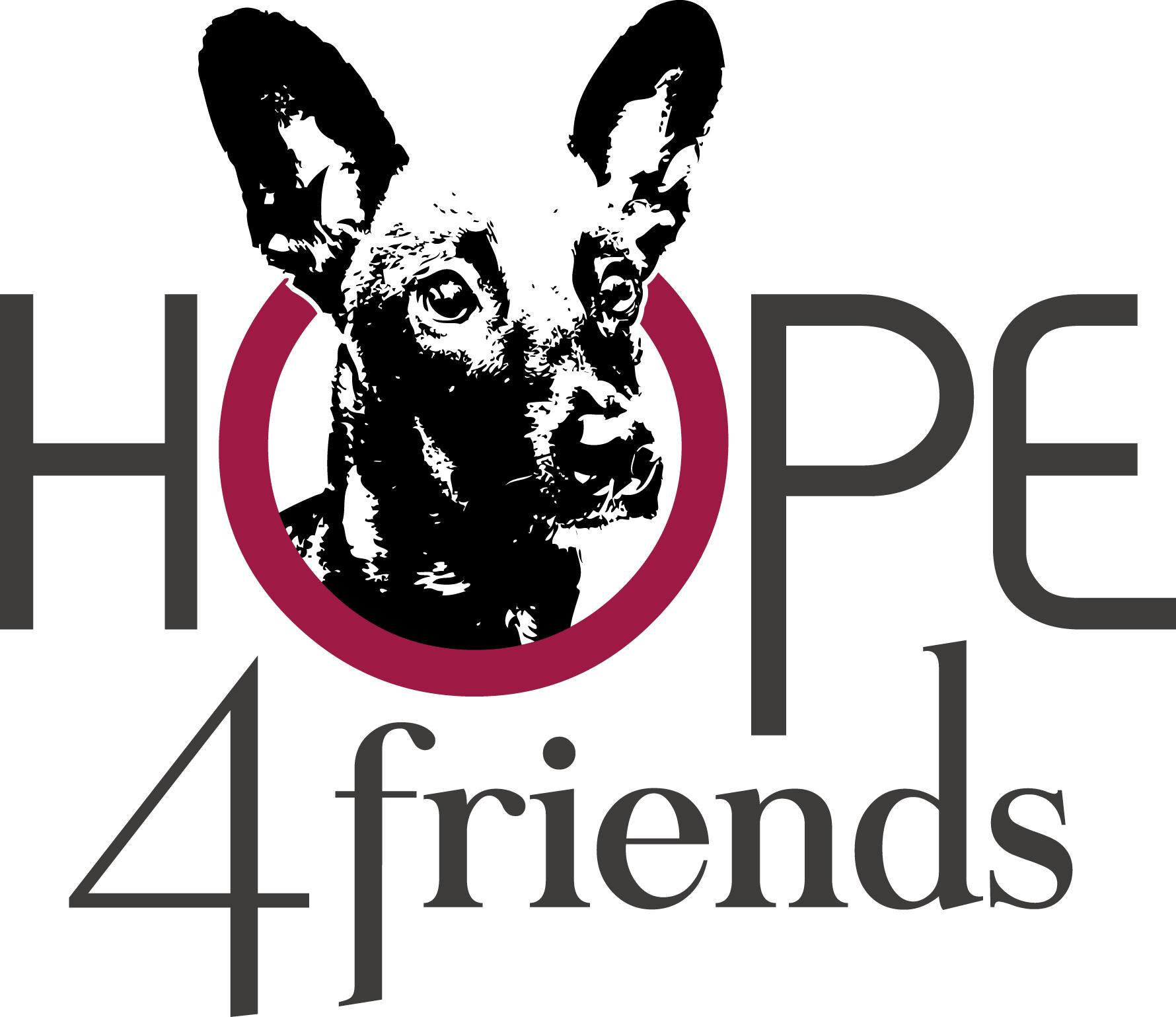 Hope 4 Friends - Logo V3b Transparent - RGB